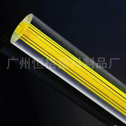 厂家直接供应压克力线条棒 直线棒 扭纹棒