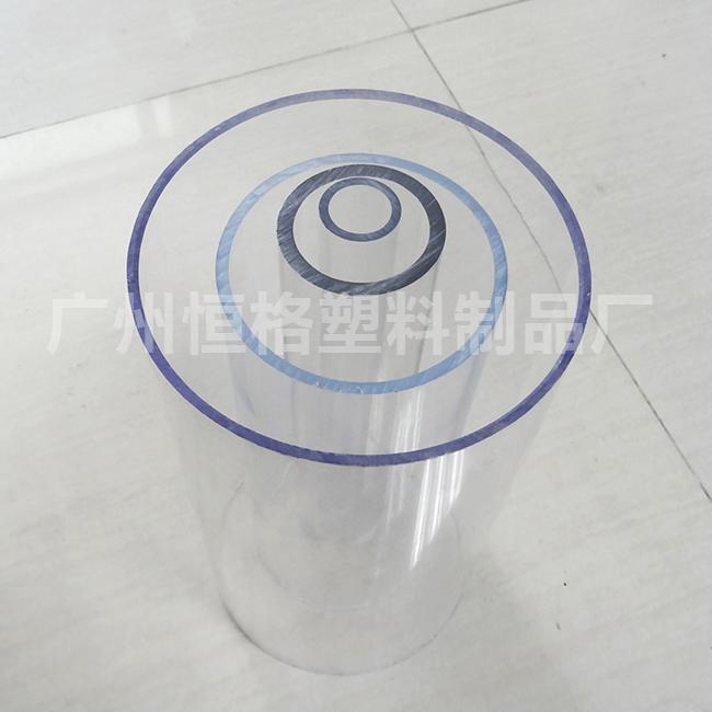 大量现货pc透明管 规格可定做 pc塑料管