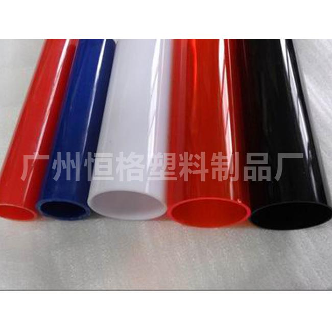 直销pc颜色管 彩色灯管 定做规格