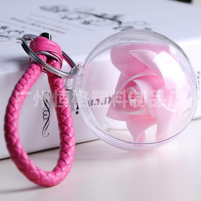 厂家直销亚克力空心球 可加工定做 透明亚克力球