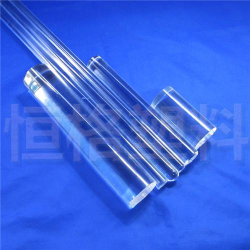 工厂供应高透明度 亮度好亚克棒 有机玻璃棒