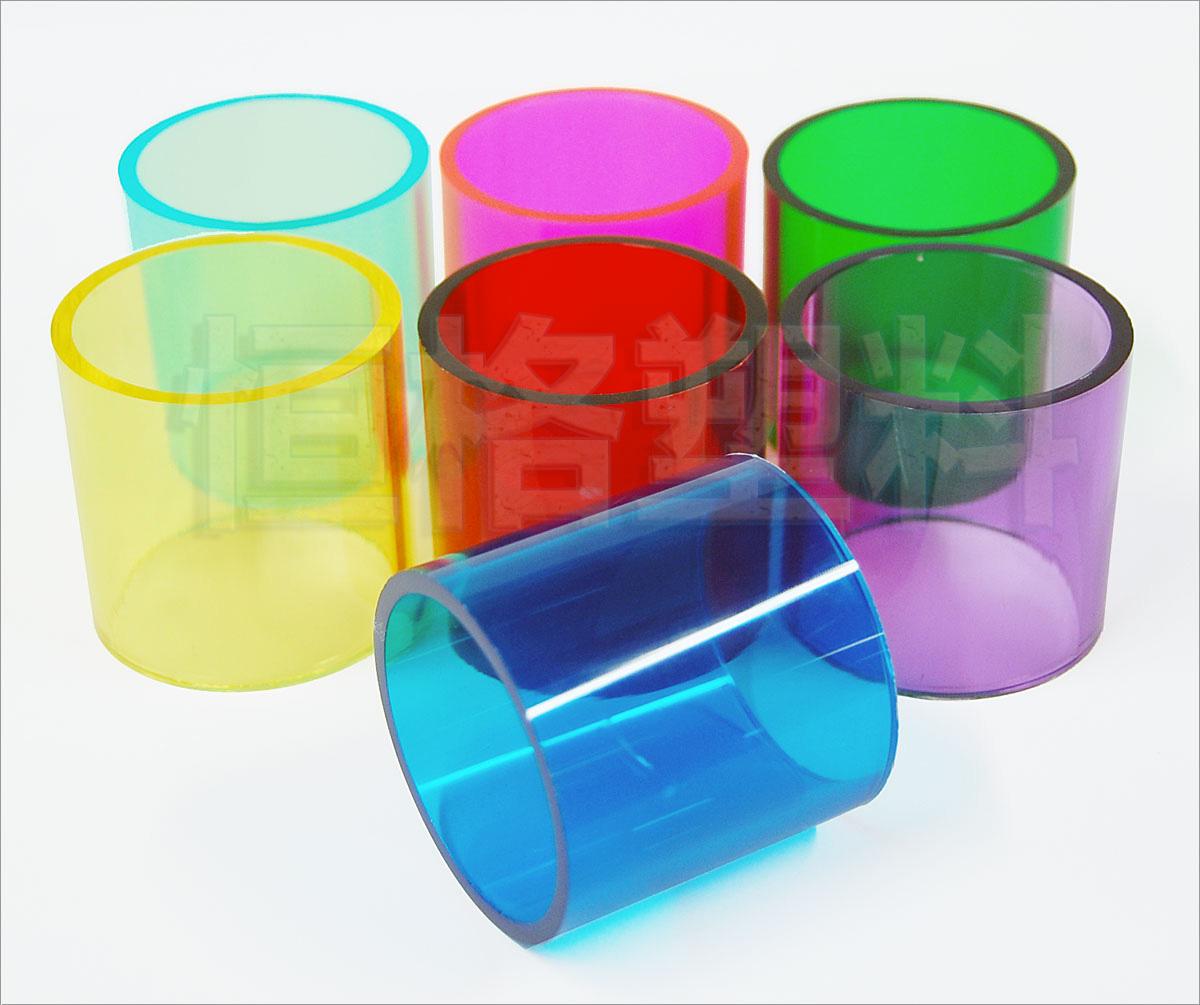 厂家直销亚克力颜色管 规格齐全 可来样定做