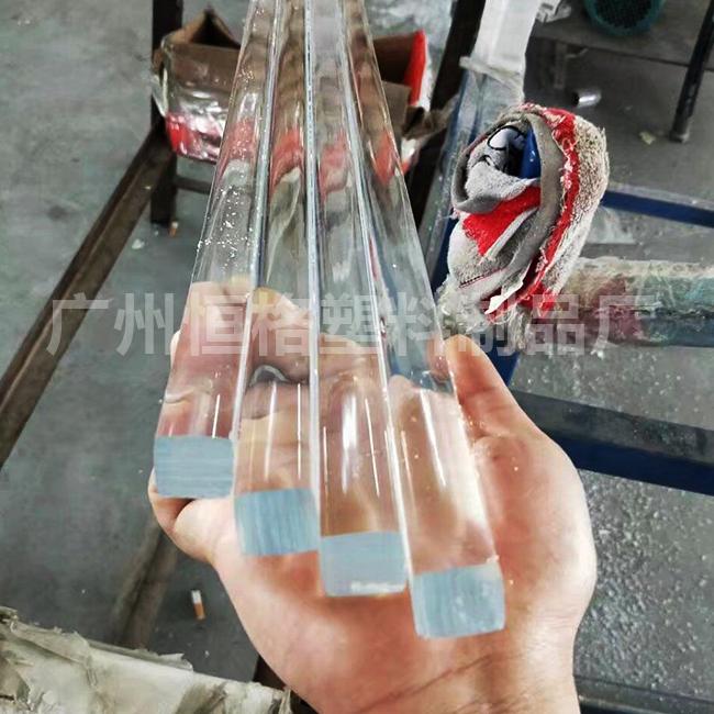 大量供应高质量有机玻璃棒 四方棒 三角棒  多边棒