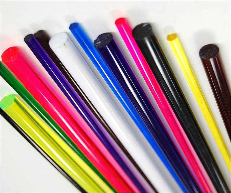 大量现货批发pc颜色管 线管 装修多用途