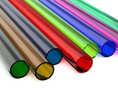 pc颜色管  电线套管 pc穿线管定做
